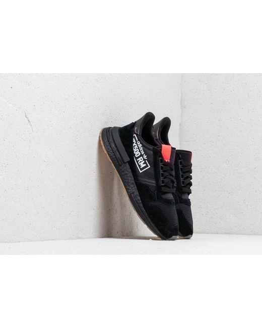 premium selection ed5cd 54612 Adidas Originals - Adidas Zx 500 Rm Core Black  Core Black  Bluebird for  Men ...
