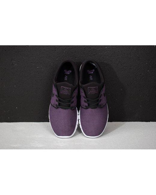 4100cd84ed9d Nike - Sb Stefan Janoski Max Black Black-pro Purple-white ...