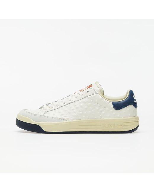 Rod Laver Ostrich Core White/ Core White/ Collegiate Navy Adidas Originals pour homme