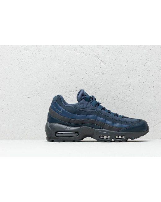 san francisco 9ba71 01cfb ... Nike - Air Max 95 Essential Squadron Blue  Squadron Blue for Men - Lyst  ...