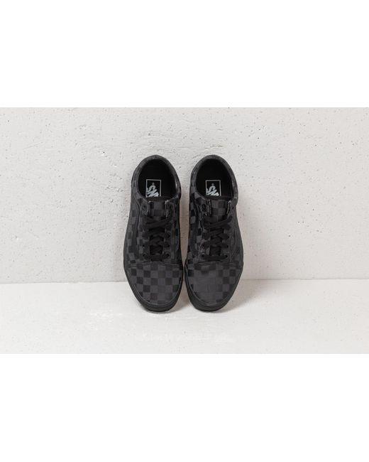 8f7ba5c68d73 ... Vans - Old Skool (high Density) Black  Checkerboard for Men - Lyst ...