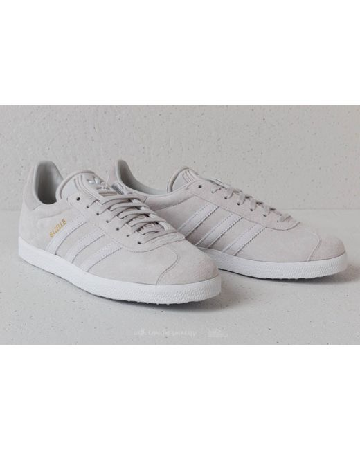 Lyst adidas originali adidas gazzella w grigio / bianco / grigio ftw