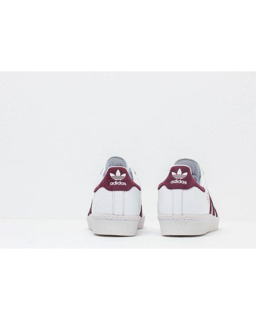 ADIDAS ORIGINALS SUPERSTAR 80S (NIGHT RED) | Sneaker Freaker
