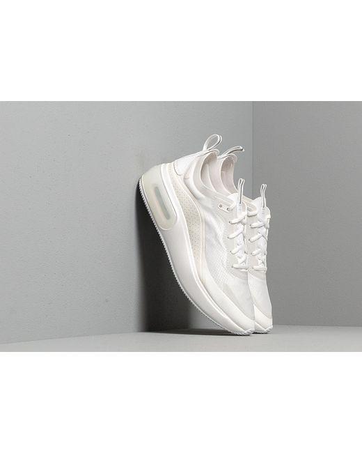 best loved fb838 83b8f Nike - W Air Max Dia Se White  Metallic Silver-summit White - Lyst ...