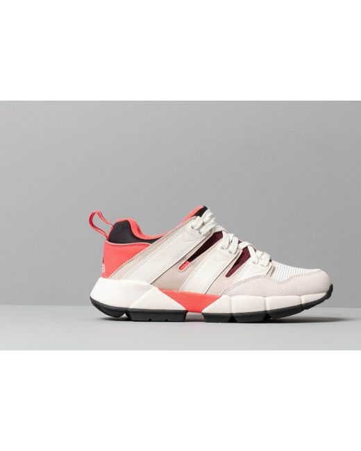 official photos 07ed3 c3459 Men's Adidas Eqt Cushion 2 Shock Red/ Off White/ Clear Brown