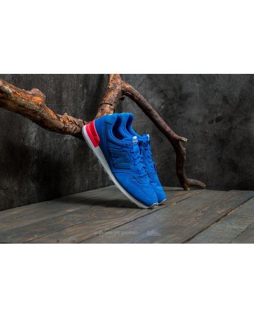 New Balance   996 Blue/ Pink for Men   Lyst