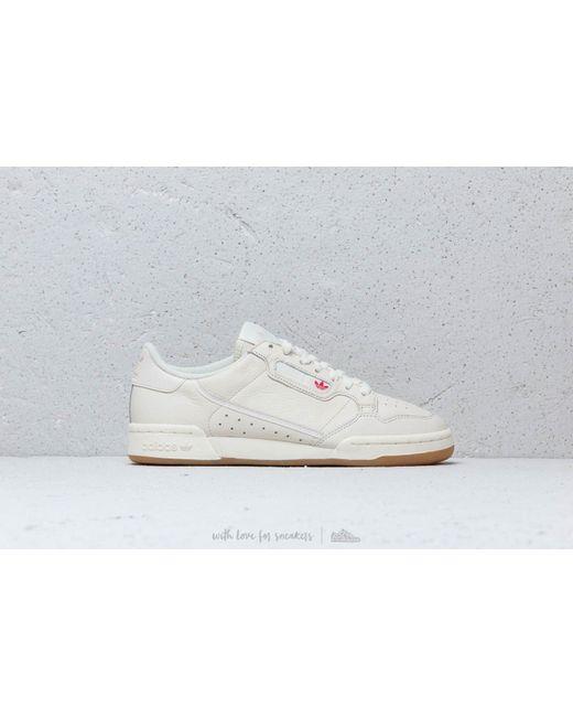 premium selection b17b4 6604a ... Adidas Originals - Adidas Continental 80 Off White Raw White Gum for  Men ...