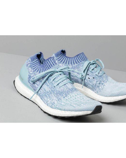 31f4fb4e266a1 ... Adidas Originals - Adidas Ultraboost Uncaged Ash Grey  Active Blue   Shock Red for Men