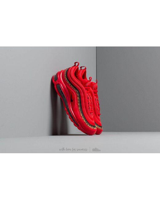 be8206af6158 Lyst - Nike W Air Max 97 University Red  Black-print in Red