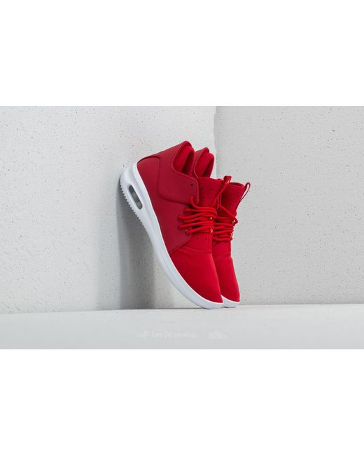 Nike - Air First Class Varsity Red/ Black/ Tour Yellow for Men - Lyst ...