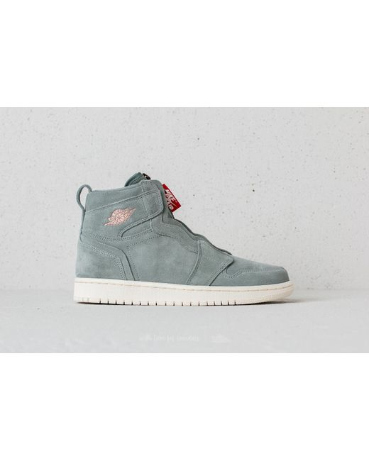 Lyst Nike Air 1 High  Zip Wmns Mica Verde  High Rojo Metalico Bronce En 60a4aa