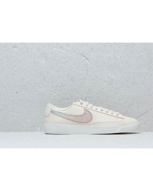 b1b77496c1 Nike W Blazer Low Lx Pale Ivory/ Guava Ice-summit White in White ...