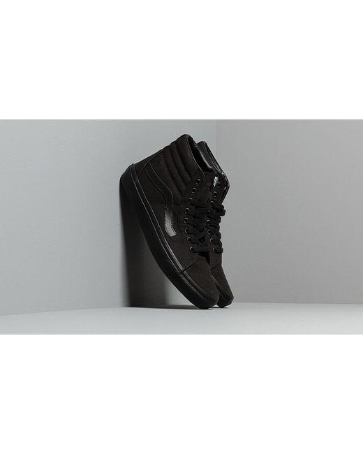 Vans Sk8-Hi Black/ Black de mujer de color negro