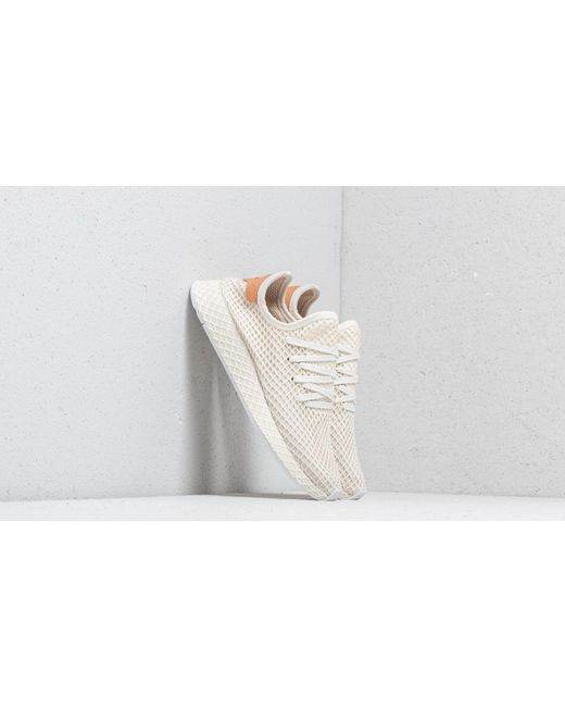 c58338c8364bb Lyst - adidas Deerupt Runner Shoes in White - Save 1%