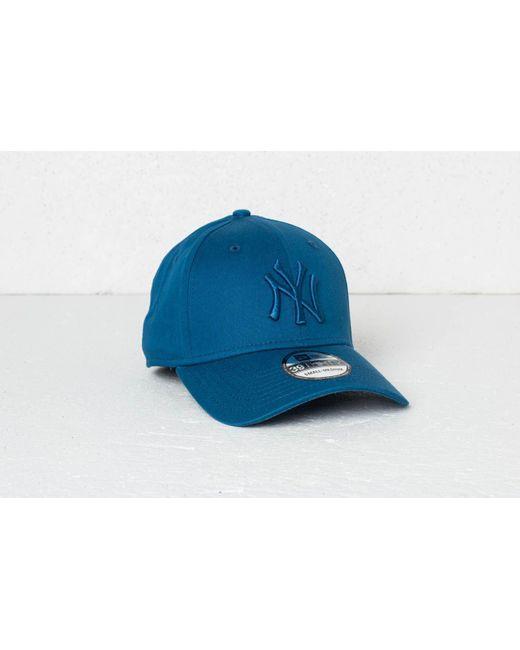 d44cb807d48 KTZ - 39thirty Mlb League Essential New York Yankees Cap Blue for Men - Lyst  ...