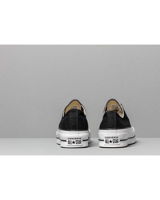 06a486154e39 ... Converse - Chuck Taylor All Star Lift Black  White  White - Lyst ...