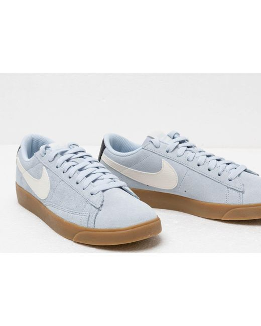 best loved 7fafd 5af20 Women's W Blazer Low Sd Half Blue/ Sail-oil Grey-gum Light Brown