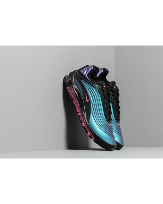 new styles 6152a 80075 Nike - Air Max Deluxe Black  Laser Fuchsia for Men - Lyst ...