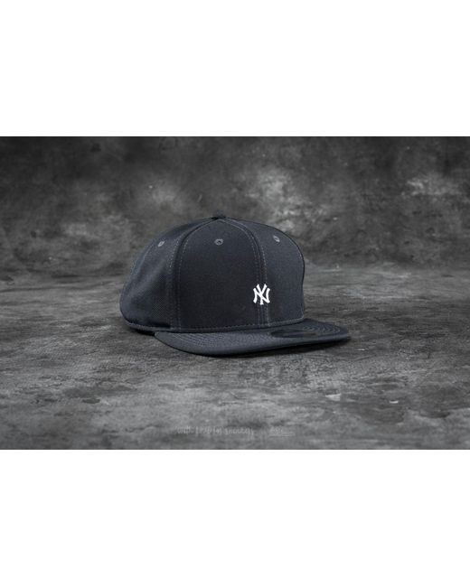 KTZ | Gray 9fifty Border Edge Pique New York Yankees Cap Dark Grey/ White for Men | Lyst