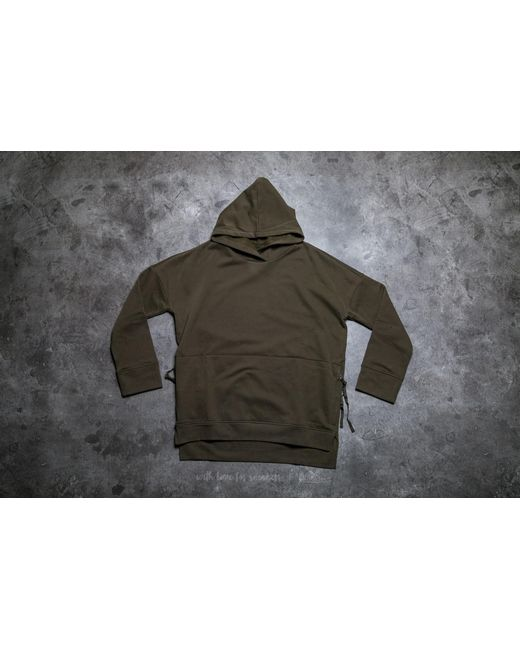 Stampd | Green Draped Hoodie Olive for Men | Lyst