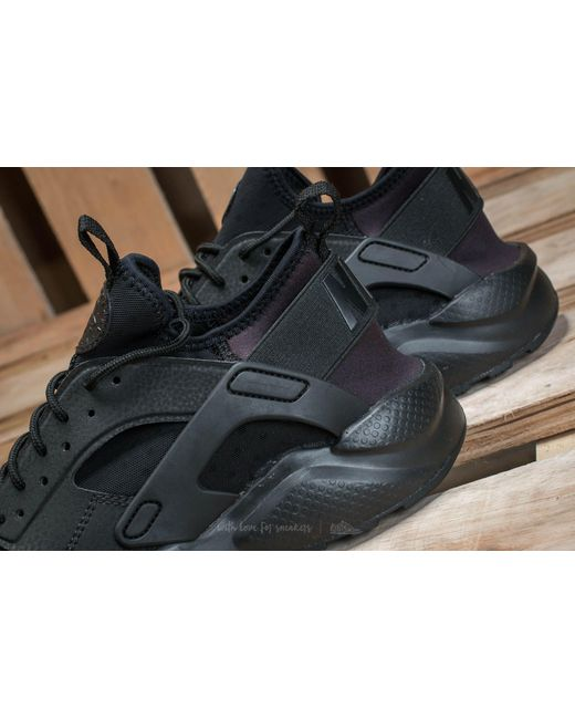 daec14281ad8 Lyst - Nike Air Huarache Run Ultra Gs Black  Black in Black - Save 6.25%
