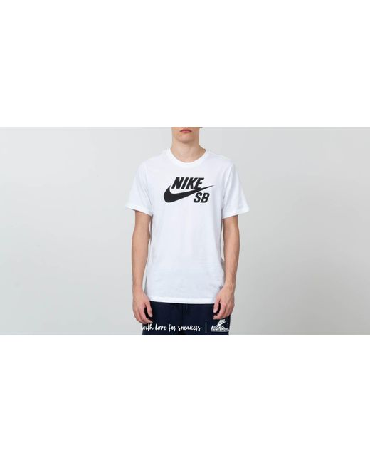 d128f678 Lyst - Nike Sb Dri-fit Tee White in White for Men
