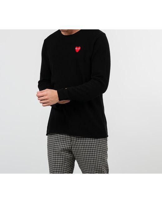 Knit Black di COMME DES GARÇONS PLAY da Uomo