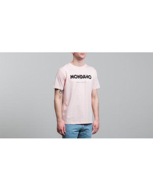 Footshop - Wood Wood Mondano T-shirt Light Pink for Men - Lyst