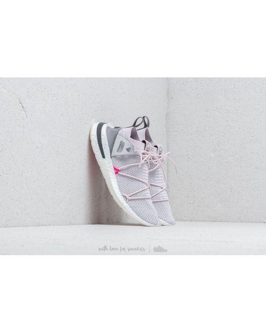 1aea103cec6 Adidas Originals - Pink Arkyn Rubber-trimmed Primeknit Sneakers - Lyst ...