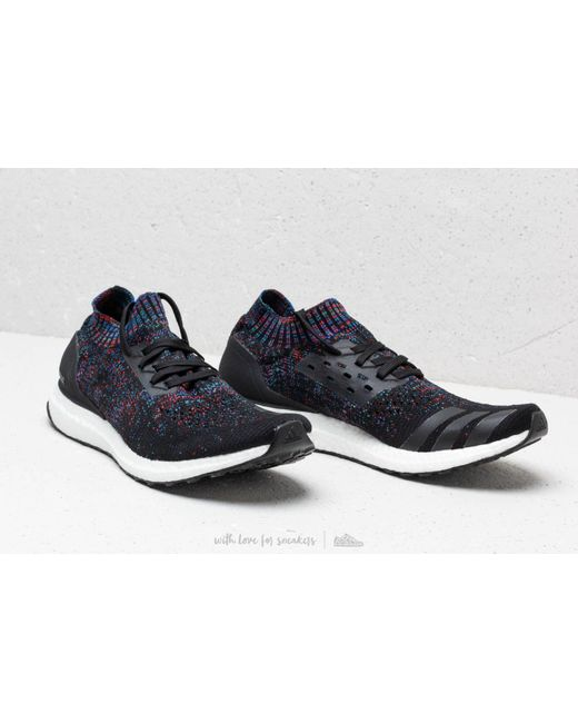 best service ab506 6c90e ... Adidas Originals - Adidas Ultraboost Uncaged Core Black Active Red  Blue for Men -