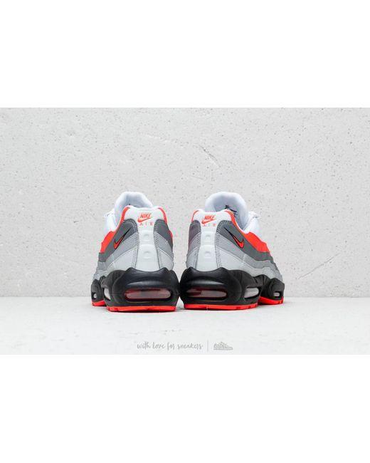wholesale dealer c24d7 1166e ... Nike - Air Max 95 Essential White  Bright Crimson-black-pure Platinum  for ...
