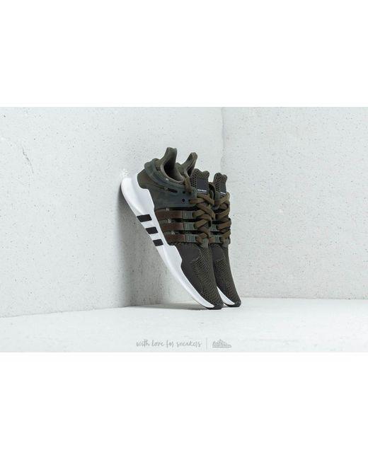 Adidas Originals - Adidas Eqt Support Adv Night Cargo  Footwear White  Core  Black for ... 46dd55105bd4