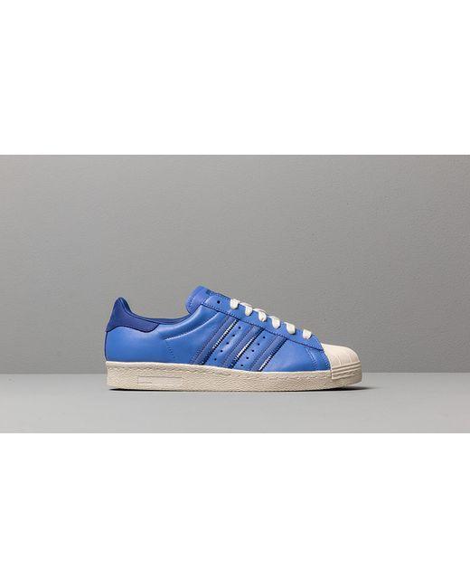 design de qualité 848db 01b2b Men's Adidas Superstar 80s Real Lilac/ Active Blue/ Off White