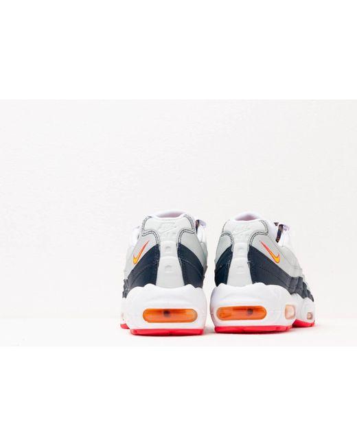 Nike Wmns Air Max 95 Midnight Navy Laser Orange pure