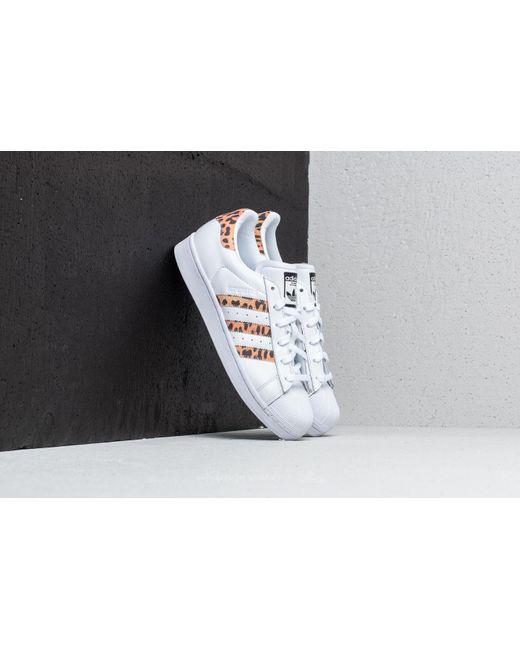 Adidas Originals - Multicolor Adidas Superstar W Ftw White/ Supplier Colour/ Core Black - Lyst