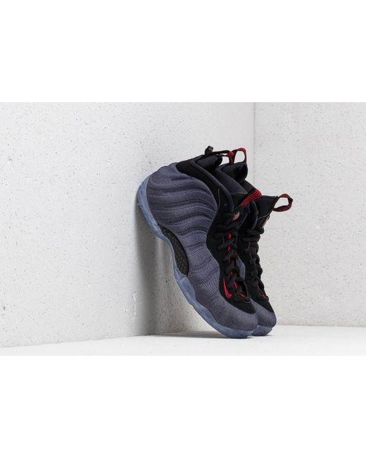 68f93400ac1a3 Nike - Air Foamposite One Obsidian  Black-university Red for Men - Lyst ...