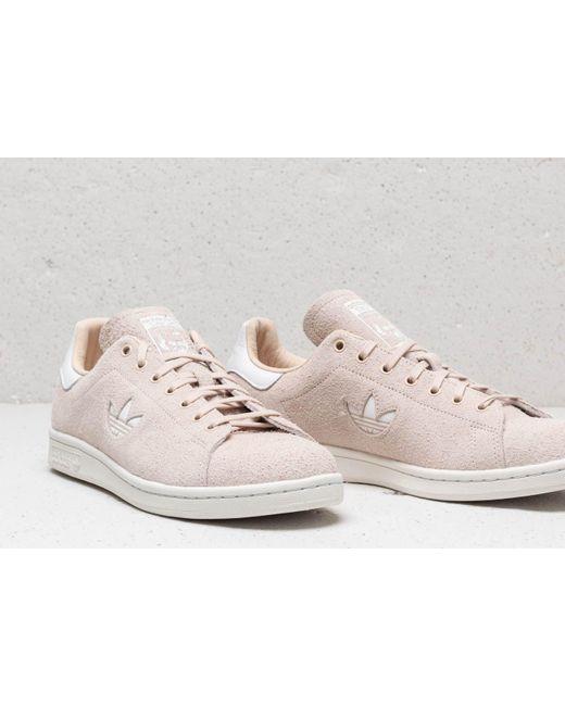 competitive price ed73d 229e0 Men's Adidas Stan Smith Linen/ Ftw White/ Crystal White