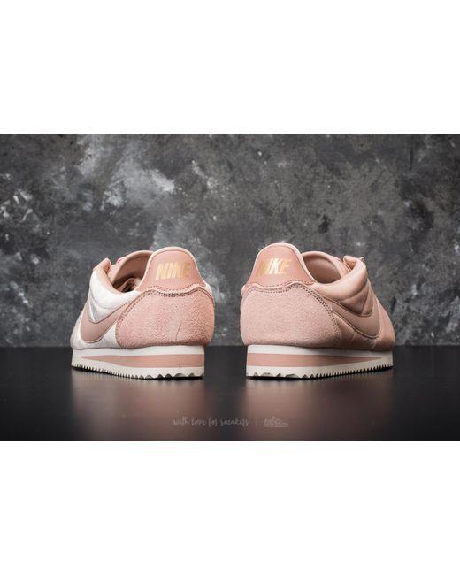 Nike Wmns Classic Cortez SE Particle Beige/ Partical Beige Cómodo Para La Venta Venta Caliente Precio Barato Tarifa Barata De Envío Bajo Precios Baratos Auténtica 2wvA9