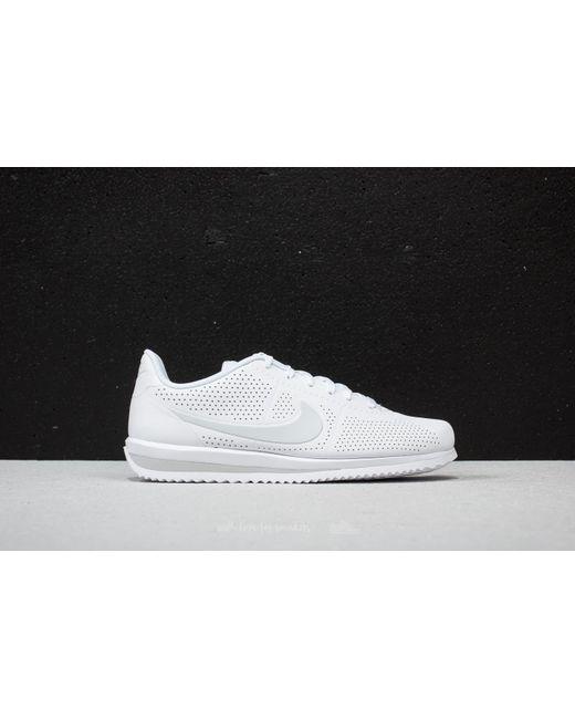 info for f5f55 0c911 Nike - Cortez Ultra Moire White Pure Platinum for Men - Lyst .