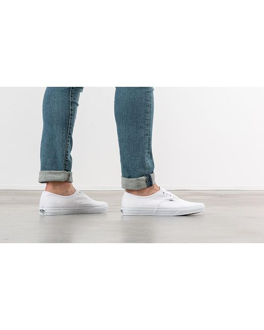 Vans Canvas Authentic Trainers in White