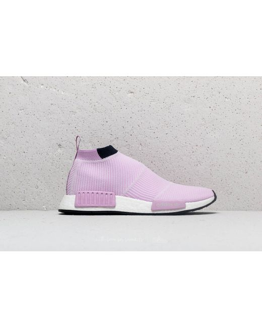 new concept 1ff75 c9886 ... Adidas Originals - Purple Adidas Nmdcs1 Primeknit W Clear Lilac Clear  Lilac Legend Ink ...