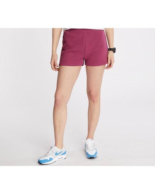 Sportswear Shorts Mulberry Rose/ Mulberry Rose di Nike in Pink