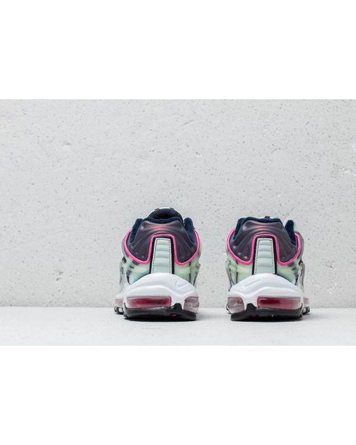 online store 1e31d bcc71 ... Nike - Air Max Deluxe Enamel Green  Metallic Silver for Men - Lyst ...
