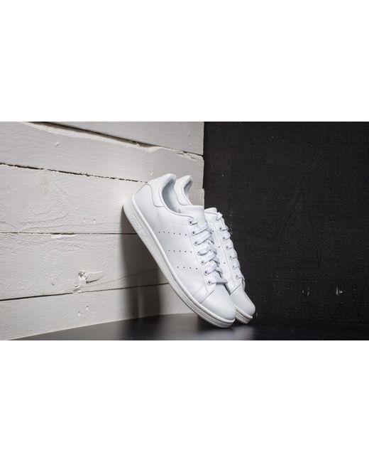 adidas Originals Adidas Stan Smith Ftw White/ Ftw White/ Ftw White de mujer de color blanco
