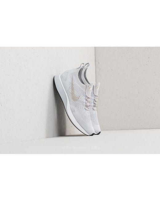 138e4535827ca3 Nike - Gray Air Zoom Mariah Flyknit Racer Pure Platinum  Dark Grey for Men  ...