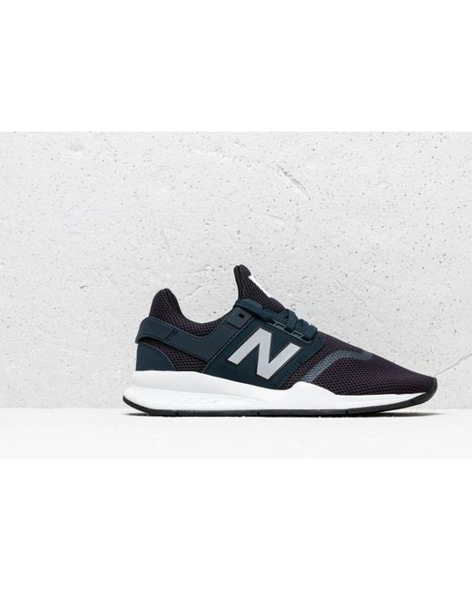 New Balance Am574 Mens Navy Blue Suede /& Textile Casual Trainers