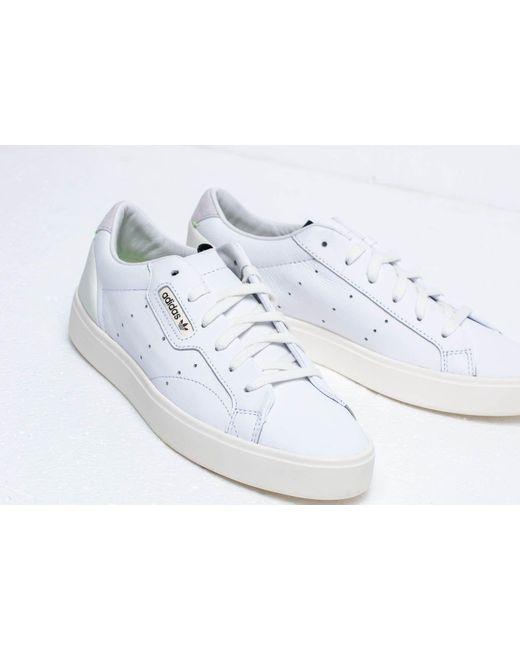 adidas Sleek W shoes white