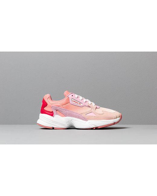 b924e376810 Women's Adidas Falcon W Ecru Tint/ Ice Pink/ True Pink