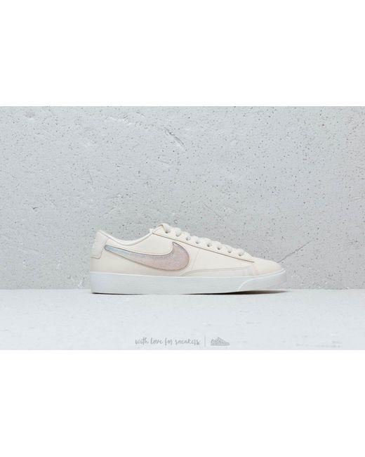 ... Nike - W Blazer Low Lx Pale Ivory  Guava Ice-summit White - Lyst ... be2983916