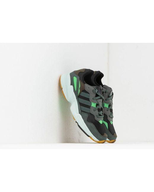 ce87c90ac Adidas Originals - Adidas Yung-96 Core Black  Legend Ivy  Raw Ochre for ...